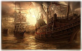 Christopher Columbus, and The Nina, The Pinta and The Santa Maria