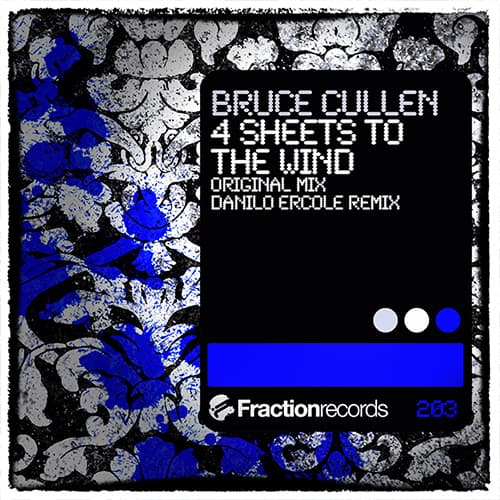 Bruce Cullen - 4 Sheets To The Wind Album Art