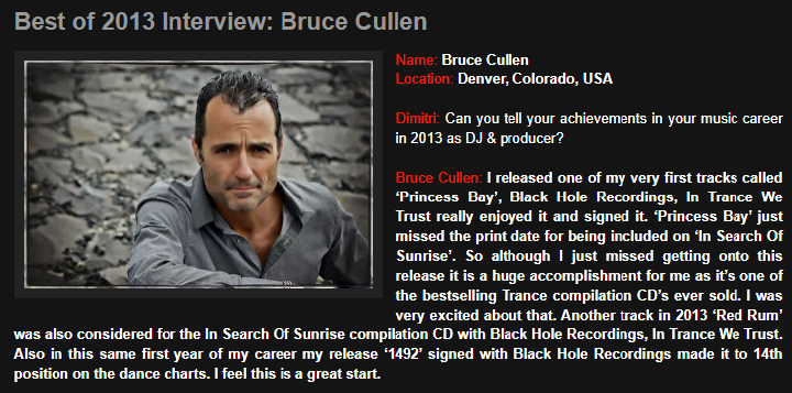 Bruce Cullen Interview 1Mix Radio.